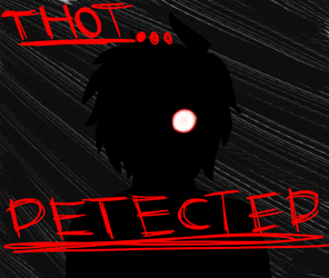New Character...?  (Or Silhouettes are just cool) by BlackandRedCynicXD