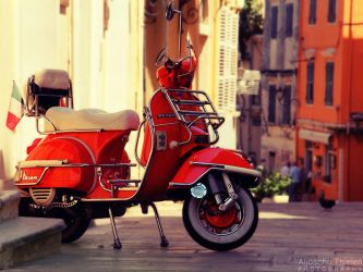 Vespa by AljoschaThielen