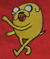 Jake the Dog Embroidered Patch by Spaceguy5