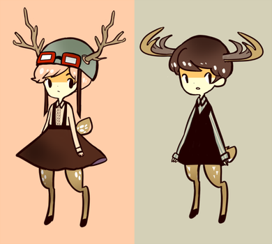 Adoptables Set 1 Auction by Usato