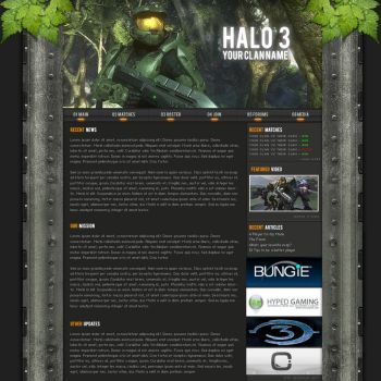 Halo 3 Clan Template by Solaris07