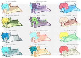 Pixel Pups Set Price - 2/12 OPEN by jurassiq