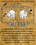 The Cray's Curious Capacitating Portable Power Pig by Sabakakrazny
