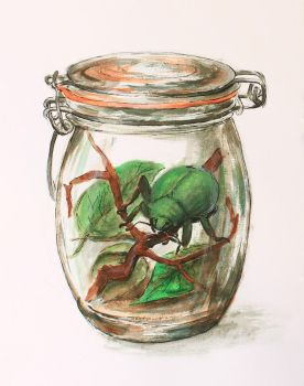 Rita in the Jar by Kiriwana