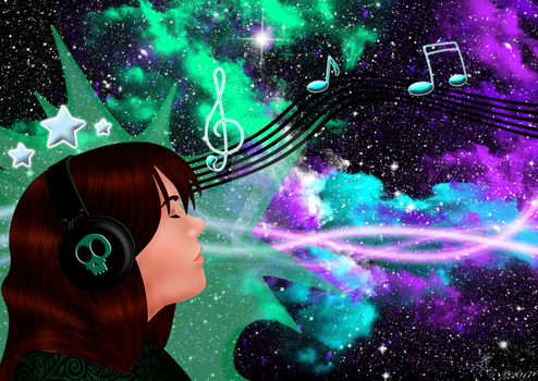 Music is Life by AprilDraven
