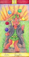 The Juggler [Brony Tarot Deck] by Pristine1281