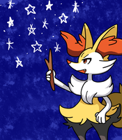 Daily Pokemon 2: Braixen by Fable-Amare