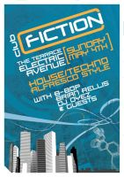 Club Fiction Poster by VectorVillainStv