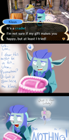 PKMC: An awkward gift. by Eiliakins