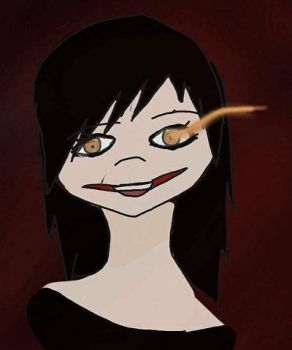Skylar Night as Jeff the Killer by Kitkate1