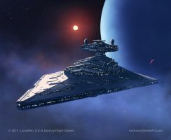 Imperial Star Destroyer Chimaera by AnthonyDevine
