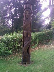 wood spirit by traficotte