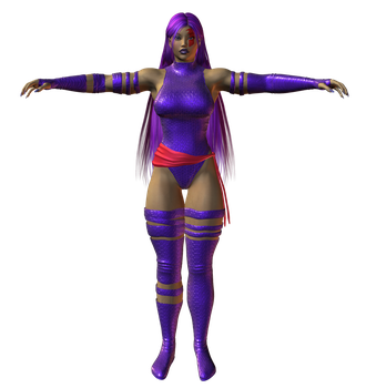 Preview: Psylocke by willdial