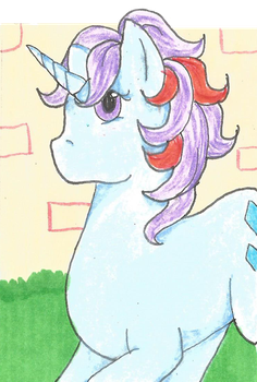 ACEO - Sparkler by purenightshade