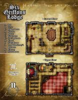 Six Griffons Lodge by butterfrog