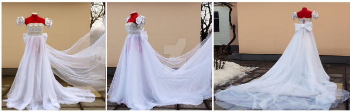 Princess serenity gown by lady-narven