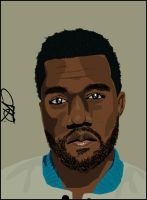 Kanye West Vector by Che1ique