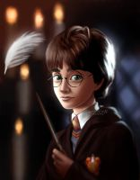 Wingardium Leviosa by miloutjexdrawing