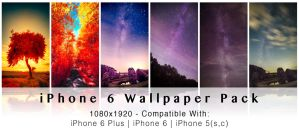 iPhone 6 (Plus) Wallpaper Pack by myINQI