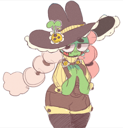 frog witch by blushbun