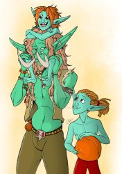 Troll Fathers Day by Horned-Lyzz