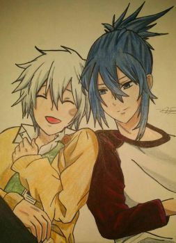 #311 Nezumi and Shion by MeowImAvery