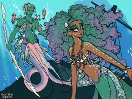 Merfolk Scene Maker by dolldivine