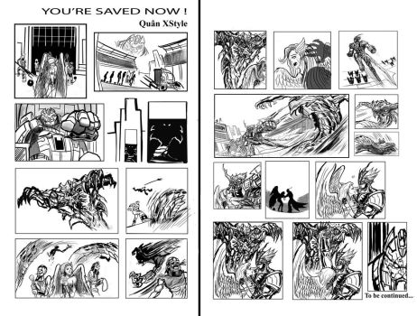 You 're Saved Now ! Story Board by Quan-Xstyle