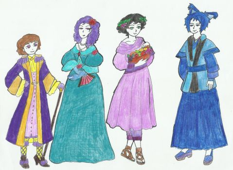 Halloween Costumes in the Viceroy universe by Lord-Viceroy-Ramirez