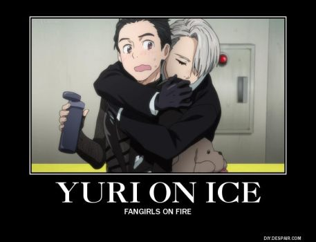 A Yuri on Ice Demotivational Poster by weigazod