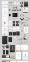 Header Stationery Scene Generator by sandracz