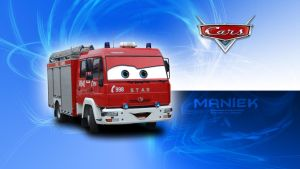 Cars - Maniek (Star/Man 349) Wallpaper by GregKmk