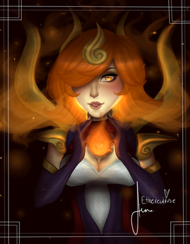 Elementalist Lux: Fire by xEtherealrose