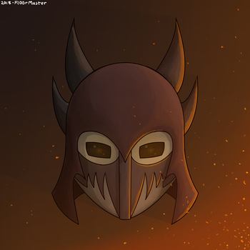 A Proper Helm (Colored Concept Art) by Fl00rMaster