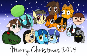 Merry Christmas 2014! by baratus93