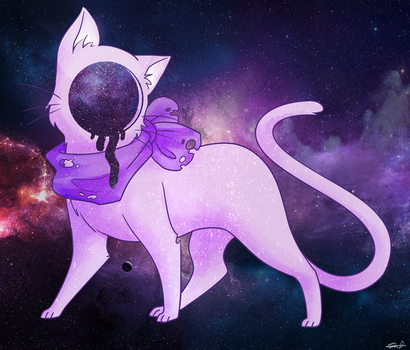 Void cat by theanimemaster2