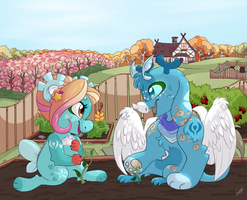 [IM - Earth - Sprout Seeds] - Gardening by Frozen--Star