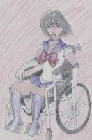 Diversity Sailor Saturn by ChronicallyZee