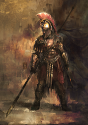 Spartan War Hero by muratgul