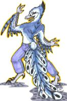 Archaeopteryx Guy by LapisBufonis