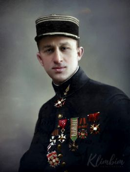 Russian Ace captain Pavel Argeyev | d'Argueeff by klimbims