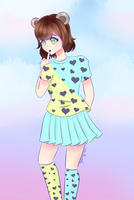 [Contest Entry] Baby the Bear by Hiyumi-Myu