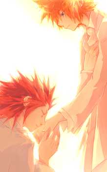 Akuroku: I do. by illbewaiting