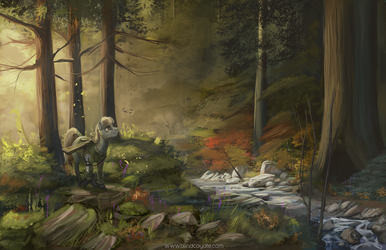Everfree Forest by BlindCoyote