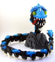 Bionicle MOC: Deep Sea Serpent by LordObliviontheGreat