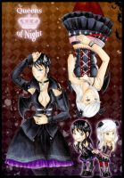 Queens of Night -Commission- by J-J-Joker