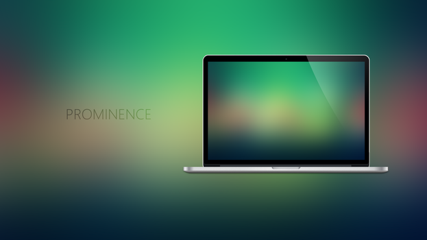 PROMINENCE - Coloured Expression Wallpapers by Ecstrap