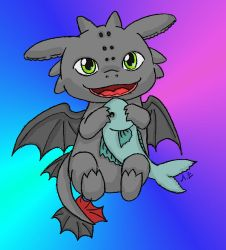 Toothless :D by AyleviaZephyr