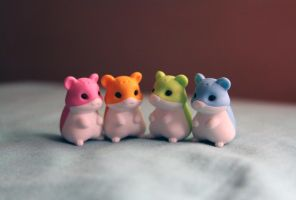 Hamsters 1 by thelegendoftiffany