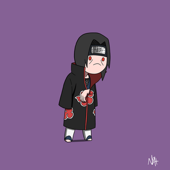 Itachi Uchiha by TheFutureFoundation